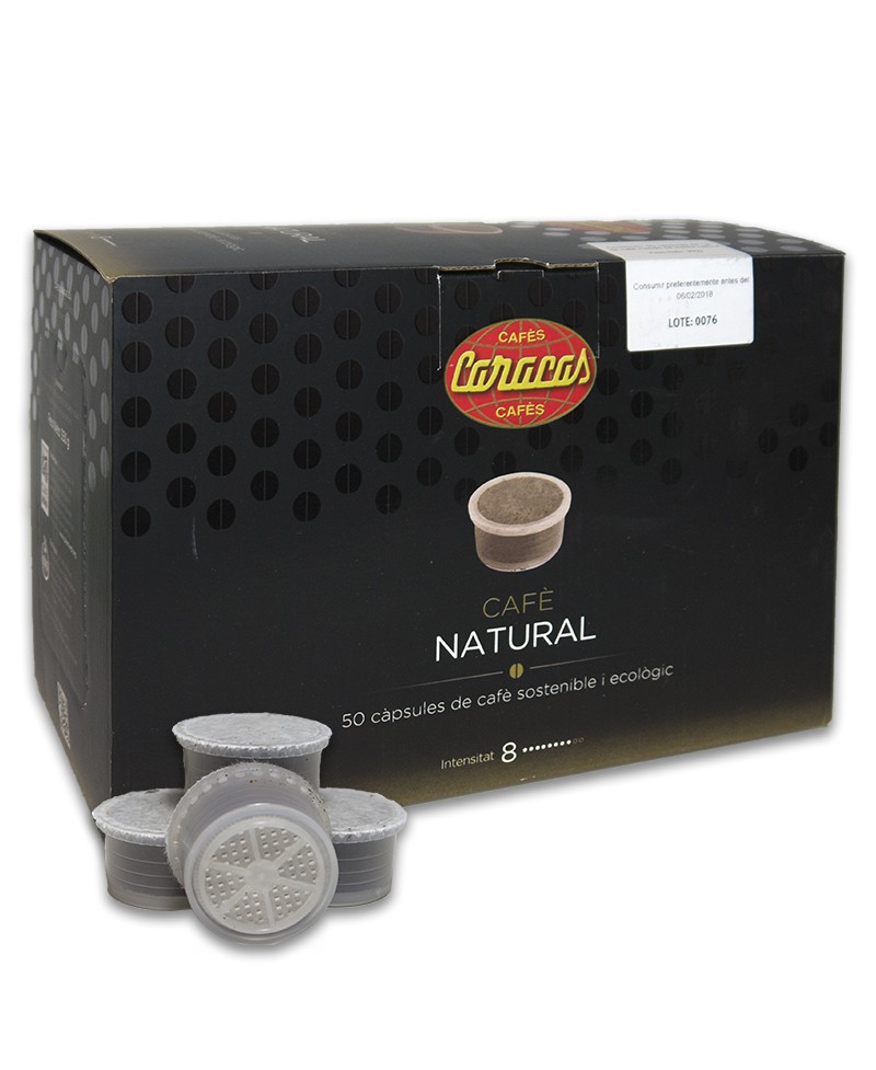Coffee Capsules Natural Superior 50 units Cafes Caracas