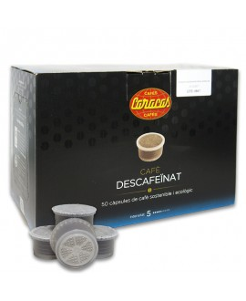 Coffee Capsules Decaffeinated 50 units Cafes Caracas
