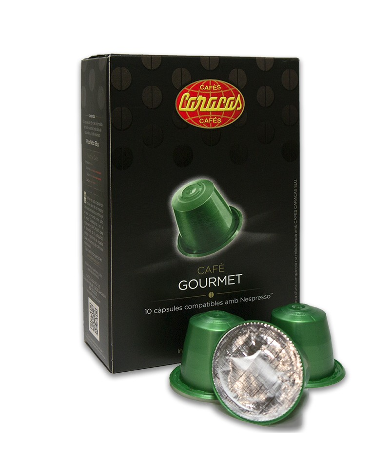 Gourmet Compatible Coffee Capsules 10 units Cafes Caracas